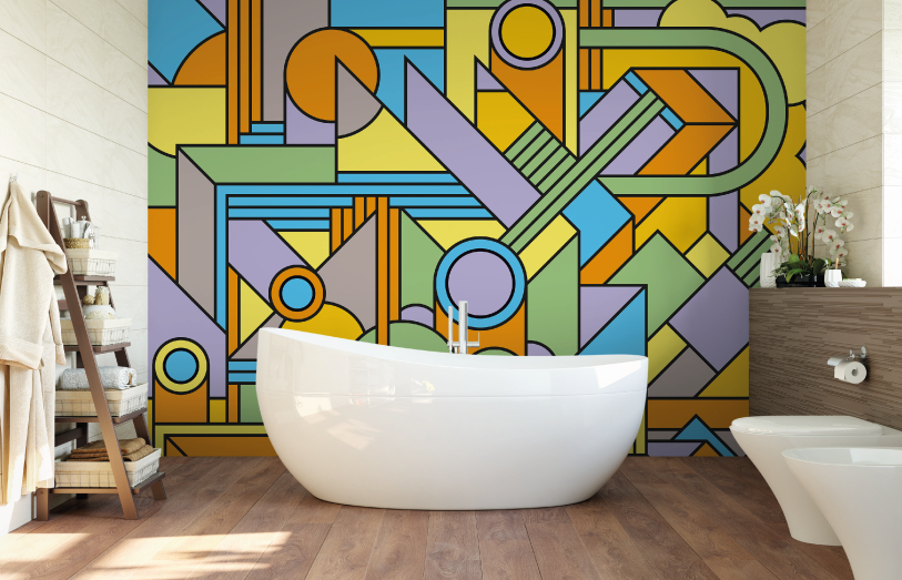 Groovy Wall Mural
