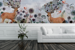 Fawna and Flora Wall Mural