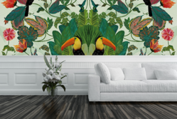 Tropical Symmetry Wall Mural