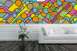 Bubble Trouble Wall Mural