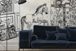 After George Stubbs Wall Mural